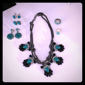 Jewelry - Lot of Turquoise colored jewelry